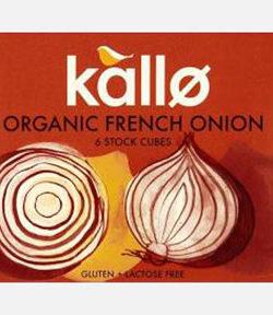 Kallo Organic French Onion Cubes X6