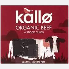 Kallo Organic Beef Cubes X6