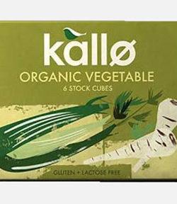 Kallo Organic Vegetable Cubes X6