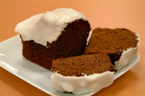 Iced Gingerbread Loaf Keemac