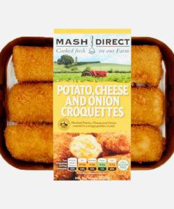 Potato, Cheese & Onion Croquettes