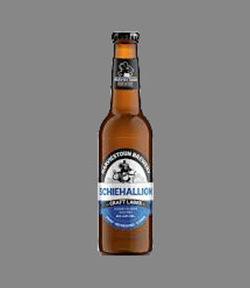 Bottle of Schiehallion Craft Beer