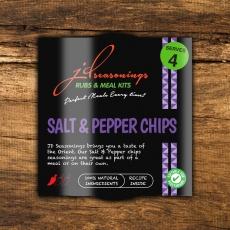 J & D Salt & Pepper Chips Seasoning