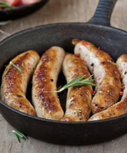 6 Tomato & Beef Sausages