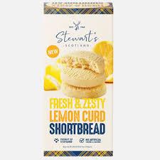 Stewart's Zesty Lemon Shortbread