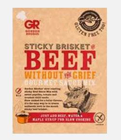 Sticky Brisket Beef Sauce Mix