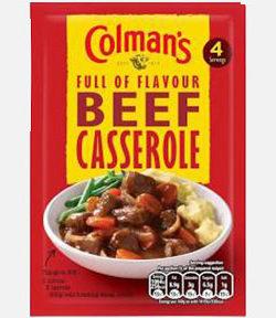 Colman's Beef Caserole Mix