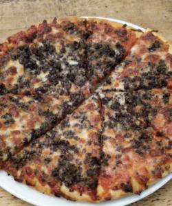 Dae It Yersel Haggis Pizza