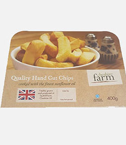 Hand Cut Chips From Frozen