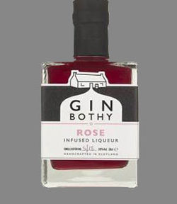 Gin Bothy Rose Infused 50ml