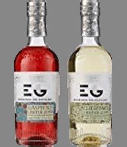 Edinburgh Gin Liqueur Elderflower & Raspberry 2x20cl Gift