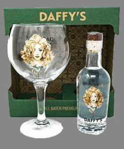 Daffys Gin (20cl) and Balloon Glass