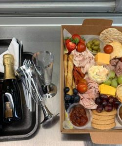 Picnic Platter with Mini Prosecco and Beer