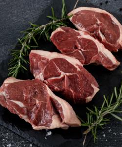 4 Lamb Chump Steaks