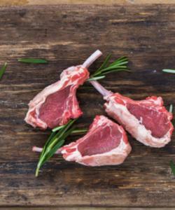 Single Loin Lamb Chops X 4
